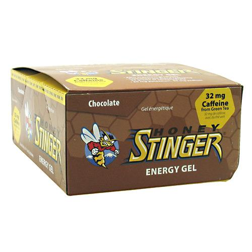 Honey Stinger Organic Energy Gel, Chocolate, 1.1 Ounce (Pack of 24)