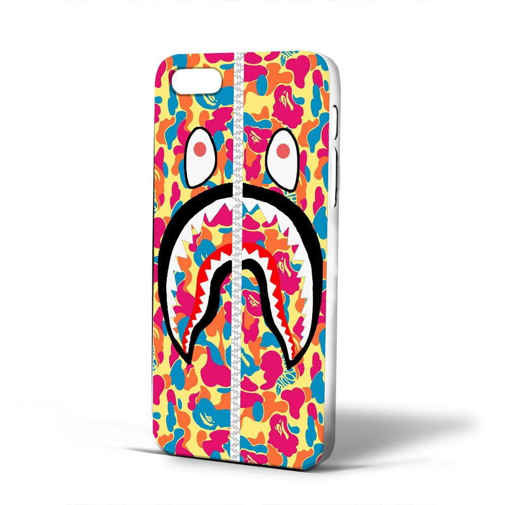 Ganma Bape Shark Pink Case For Samsung Galaxy Case (Case For Samsung Galaxy S4 white)