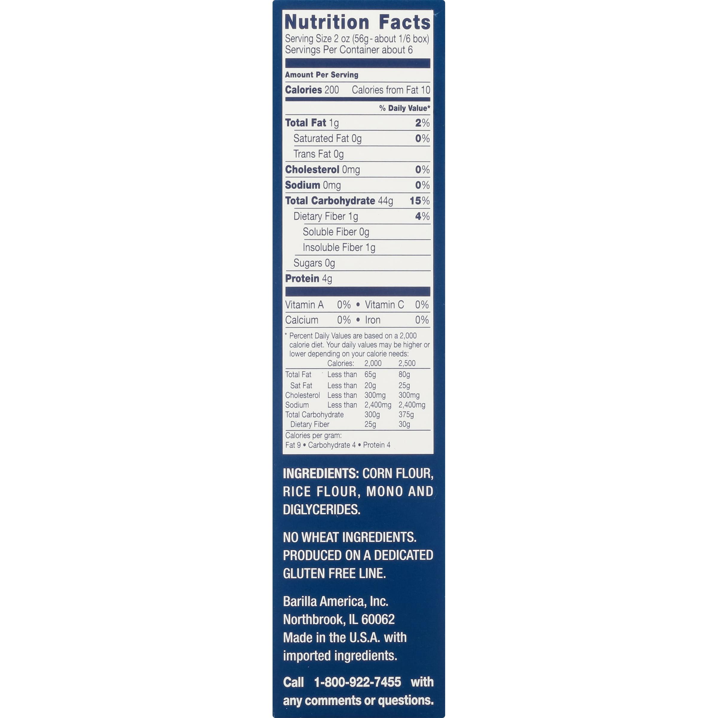 Barilla Elbows Free Gluten Pasta 12 oz