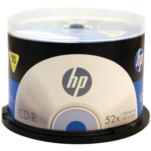 600 HP CDR (CD-R) 52X 80Min/700MB (HP Logo on Top)