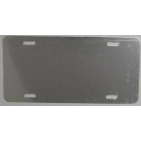 Mirrored License Plate - 0.040 Near Mirror Aluminum Blank License Plate