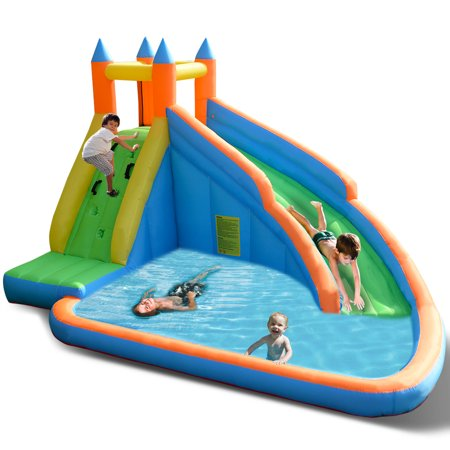 Inflatable Water Slide Mighty Bounce House Jumper Castle Moonwalk Without Er Image 1 Of 10
