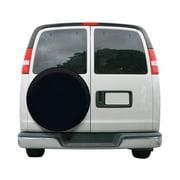 "Classic Accessories OverDrive Universal Fit Spare Tire RV Cover, Wheels 26"" - 28"" Diameter, Black"