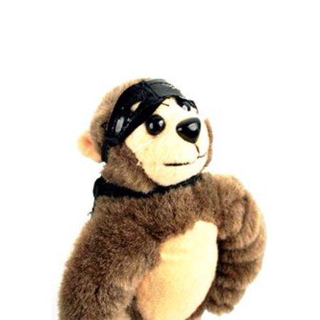 Flingshot Slingshot Flying Screaming Monkey, Brown - image 2 of 4