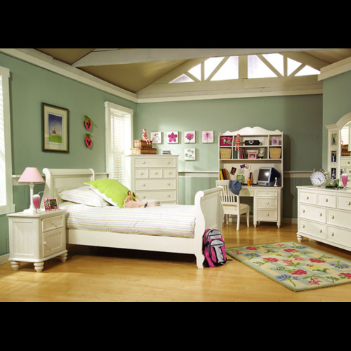 LC Kids Summer Breeze Sleigh Bed