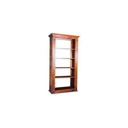 Adjustable Standard Shelf Tall Bookcase W Open Back