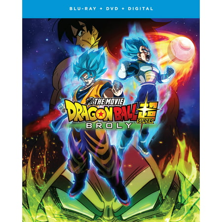 Dragon Ball Super: Broly - The Movie (Blu-ray + DVD + Digital Copy) (When Is The Movie Halloween On Tv)