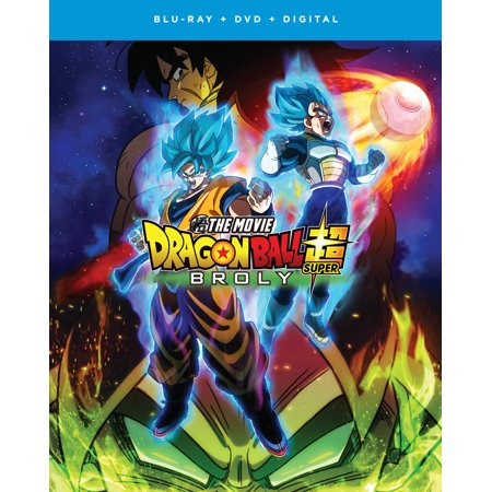 Super Cool Movie - Dragon Ball Super: Broly - The Movie (Blu-ray + DVD + Digital Copy)