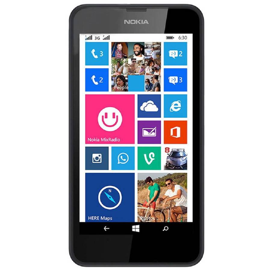 Refurbished Nokia Lumia 635 Smartphone (Unlocked), Black