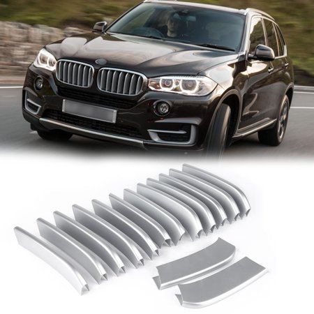 HURRISE 14PCS Car Front Grille Cover Trim Stickers Accessories For BMW X5 X6 F16 F15, Car Front Grille Trim,Car Front Grille Cover Trim - image 4 of 6