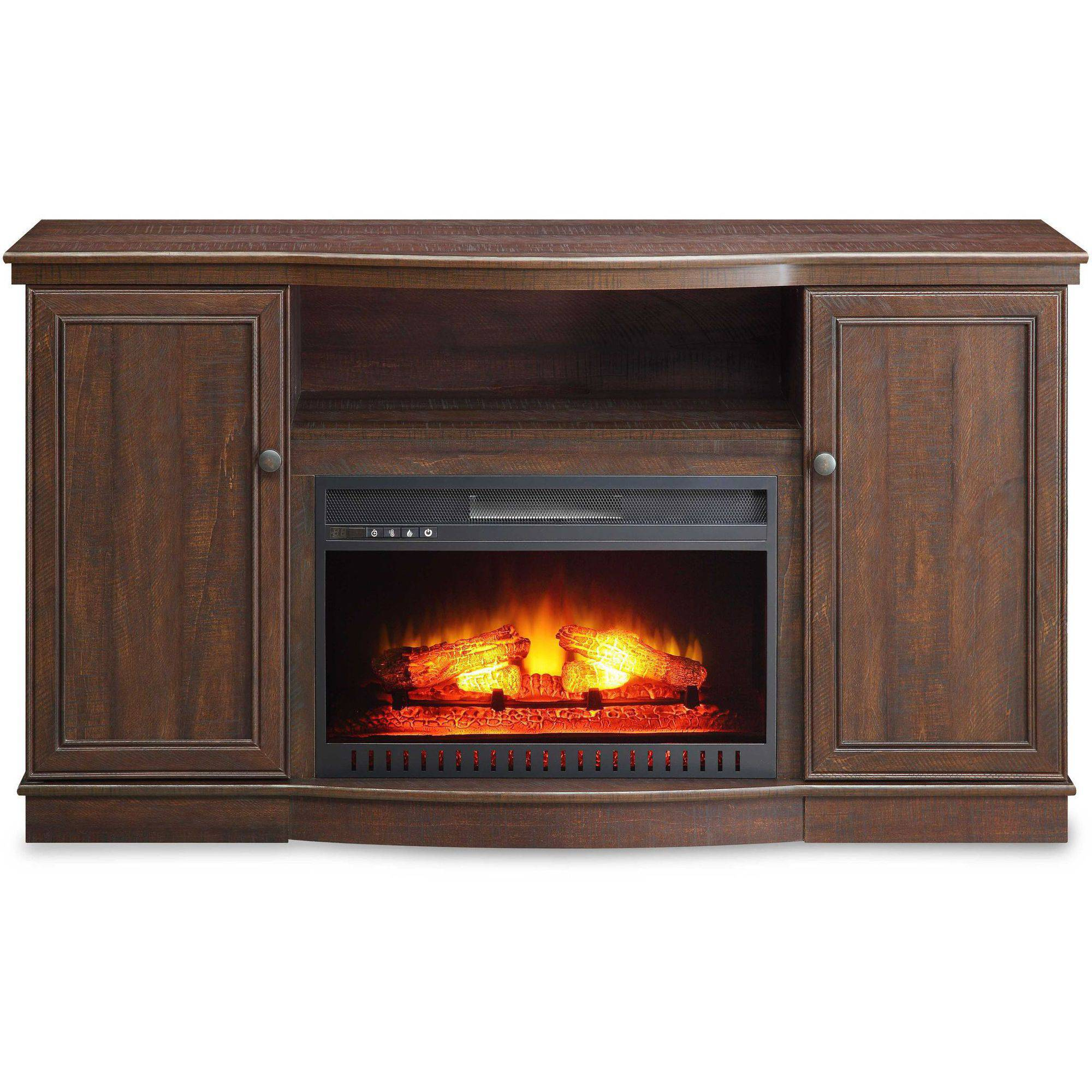 Whalen Media Fireplace Console For Tvs Up To 45 Fireplaces
