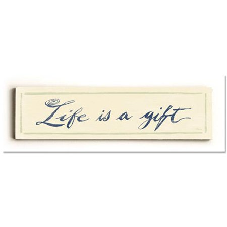 ArteHouse 0003-1345-24 Life is a Gift 3 Vintage Sign - image 1 of 1