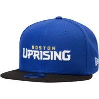 Boston Uprising Overwatch League New Era Two-Tone Team Snapback Adjustable Hat - Blue - OSFA