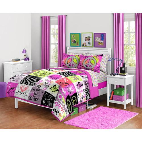 Rock Your Room Life is Unique Bedding Comforter Set