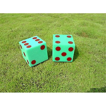 Everrich EVV-0011 Foam Dice with Dots or Numbers