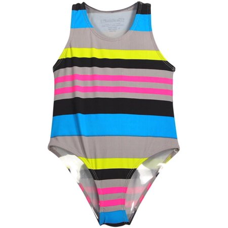 4b23e2858c1 Flowers by Zoe - Flowers by Zoe Girls One Piece Swimsuit Bathing Suit  Swimwear Sizes 4 - 8