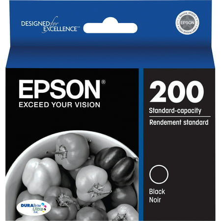 Epson 200 DURABrite Original Black Ink Cartridge 3 Ink Photo Black Cartridge
