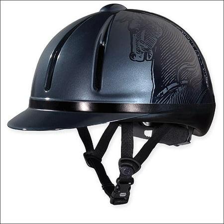 Troxel Legacy Smoke Antiquus Slim Profile All Purpose Equestrian Helmet Troxel Equestrian Spirit Helmet