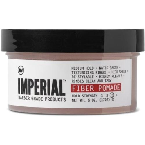 Imperial Barber Products Fiber Pomade 6 oz (Pack of 4)