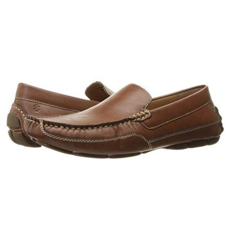 IZOD Burney Tan Smooth Casual Loafer Size: 9 M