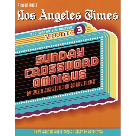 Los Angeles Times Sunday Crossword Omnibus, Volume 3 - Halloween Activities For Toddlers Los Angeles