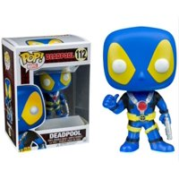 Funko POP! Marvel Deadpool Blue X-Men Colors, #112, FYE Exclusive