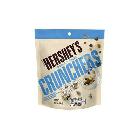 HERSHEY'S COOKIES 'N' CREME Crunchers Pouch, 6.5 oz, 3 Pack - Cookies N Cream Hershey's