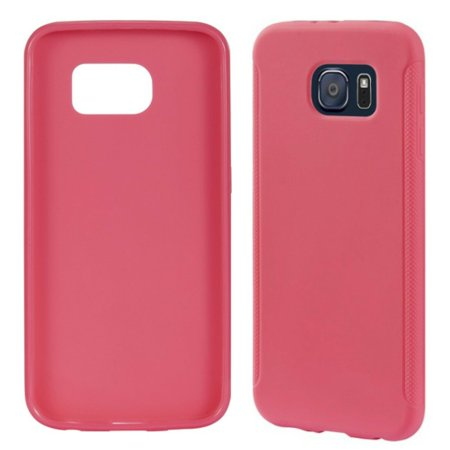 BRAND NEW Insignia Samsung Galaxy S6 HOT PINK Soft Cell Phone Case neon  bright