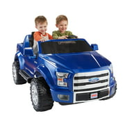 Power Wheels Ford F-150 12-V Battery-Powered Ride-On Vehicle, Blue