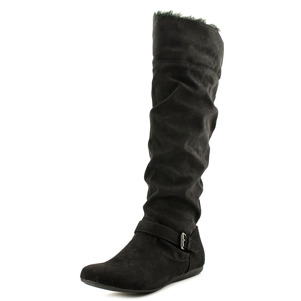 f9495271fba New Directions Sierra Round Toe Faux Fur Over the Knee Boot ...