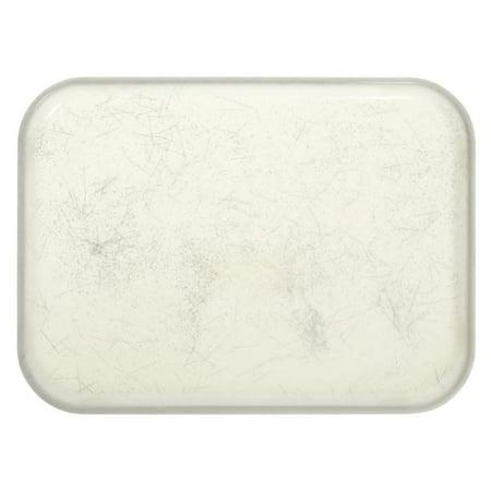 Cambro Camtray Tray Rectangular Silver Antique Parchment Fiberglass Tray - 18