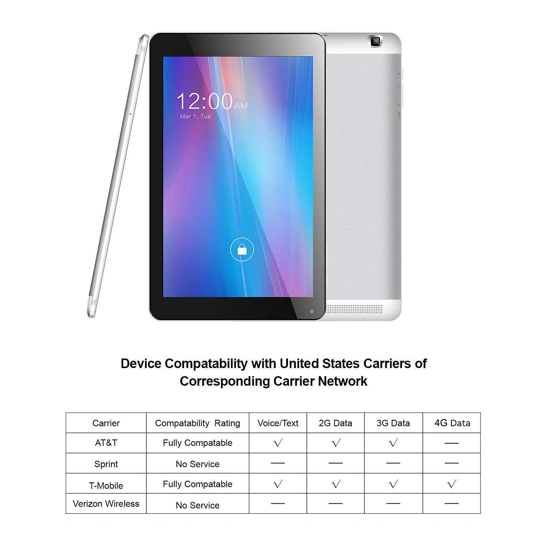 Azpen g1058 4g lte tablet 8gb storage walmart fandeluxe Image collections
