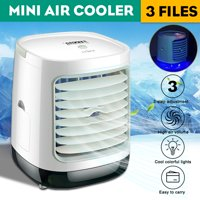Mini Summer Air Cooler Air Conditioner Air Conditioning Fan with LED Light