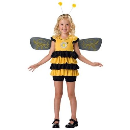 In Character Kids Bumble Bee Insect Outfit Girls Halloween Costume (Who Is The Main Character In Halloween)