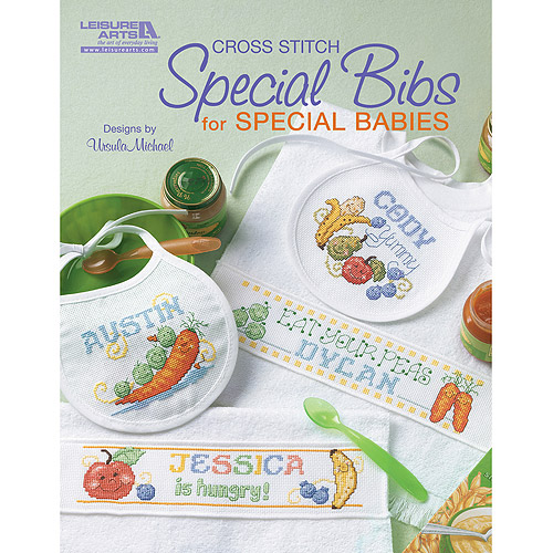 Leisure Arts Special Bibs For Special Babies