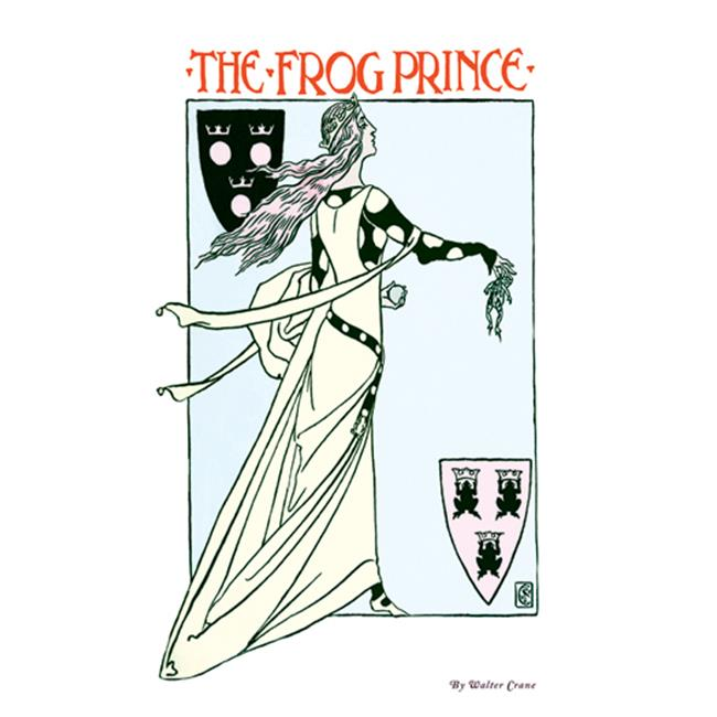 Buy Enlarge 0-587-09598-9P20x30 Frog Prince- Paper Size P20x30