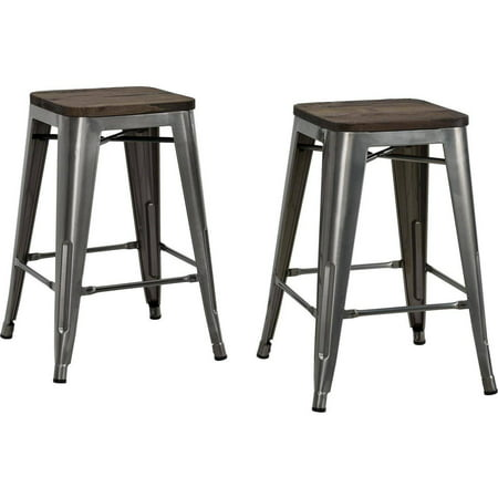 Backless Industrial Stool High Base (DHP Fusion 24