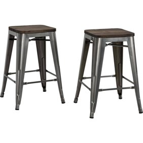 Peachy Lincoln Backless Swivel Counter Stool Black Gold Camellatalisay Diy Chair Ideas Camellatalisaycom