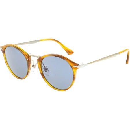 0e84b0cf15 Persol - Persol Men s Calligrapher PO3166S-960 56-51 Brown Round Sunglasses  - Walmart.com