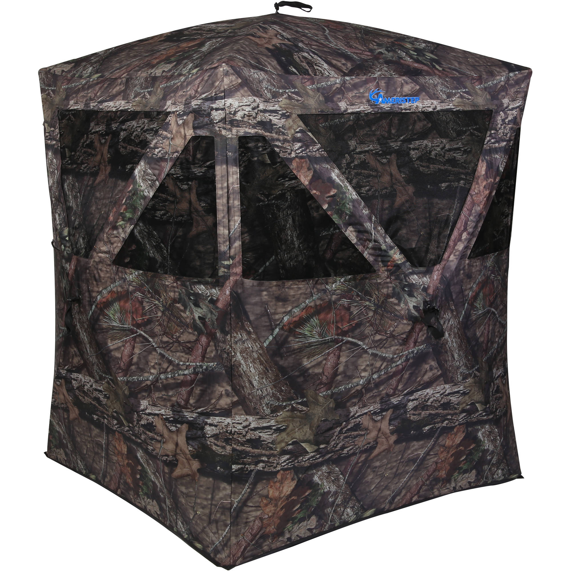 Backwoods Hunting Blind, Mossy Oak Camouflage Pattern by Ameristep