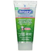 2 Pack - Benadryl Children's Anti-Itch Cooling Gel 3oz Each