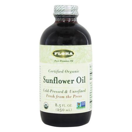Sunflower Oil China - Flora - Sunflower Oil Certified Organic - 8.5 oz.