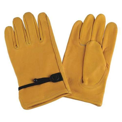 Condor 4TJY7 XL Gold Leather Driver's Gloves