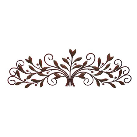 Decmode Metal Wall Decor, Brown ()