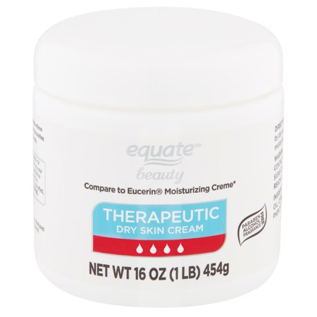 Equate Beauty Therapeutic Dry Skin Cream, 16 oz