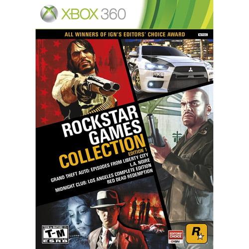 Rockstar Games Collection: Edition #1(Xbox 360)