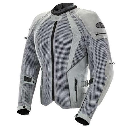 Joe Rocket Cleo Elite Women's Textile Jacket Silver Md  1653-0303