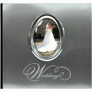 "MBI Silver Wedding Photo Album 9.75""X6.75"""