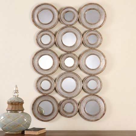 Uttermost Circle (Uttermost Vobbia Metal Circles Mirror - 30W x 49H in. )