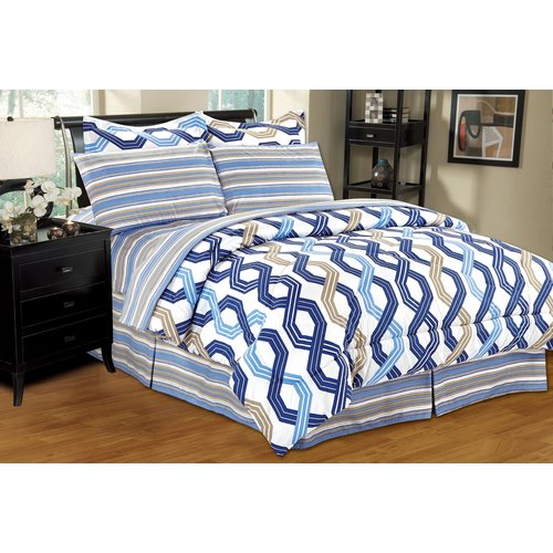 Home Sweet Home Dreams Complete Reversible Comforter Set